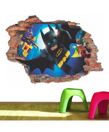 Pared rota Batman Lego