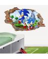 Pared rota Sonic