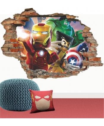 Pared Lego Avengers 2