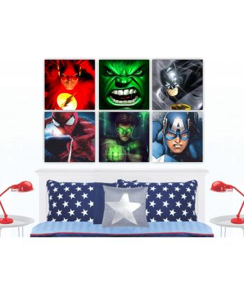 Retablos Superhéroes 2