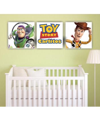 Retablos Toy story (nombre personalizado)