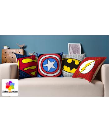 Cojines Superheroes 1