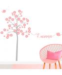 Árbol Infantil Niña (nombre personalizado)