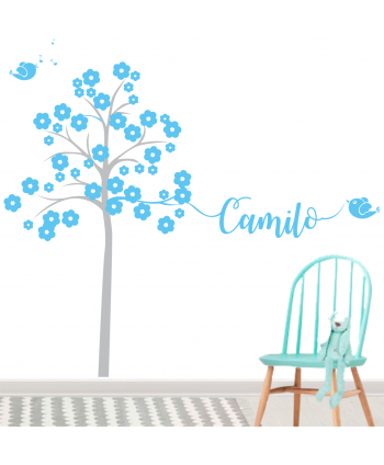 Árbol Infantil Niño (Nombre Personalizado)