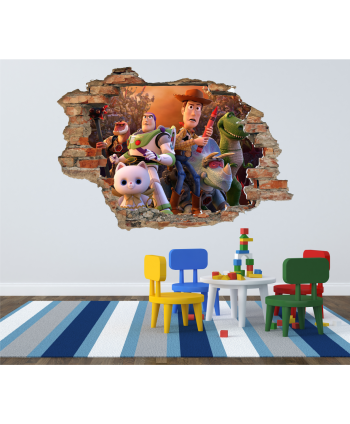 Pared Rota Toy Story