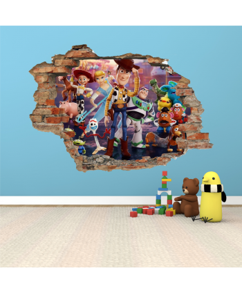 Pared Toy Story