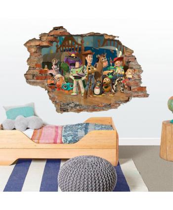 Pared Rota Amigos Toy Story