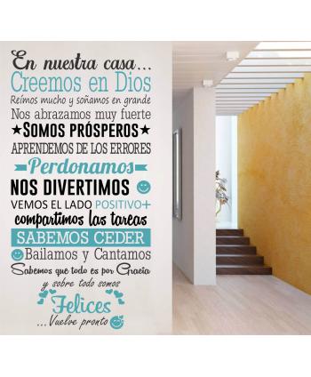 En nuestra casa creemos en Dios 2