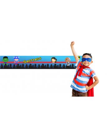 Cenefa Superheroes