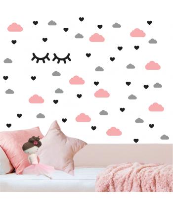 Pestañas Nubes y Corazones