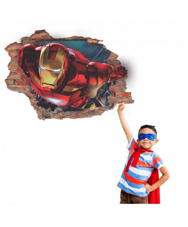 Pared Rota Iron Man