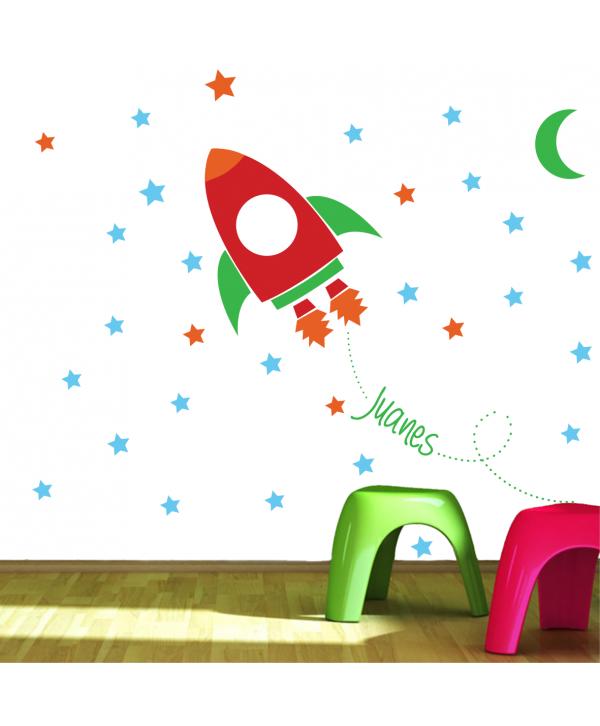 Cohete Soñador (nombre personalizado)