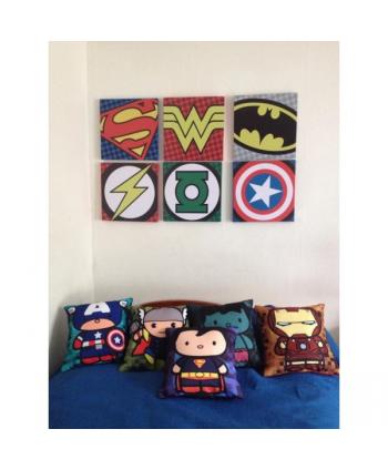 Retablos Logos Superheroes