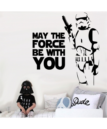 Stormtrooper May the Force