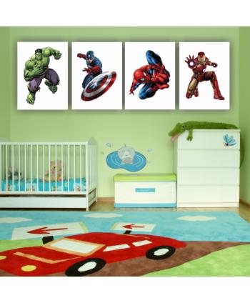 Retablos Superhéroes 6