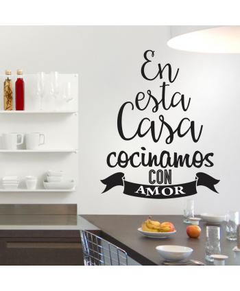 En esta casa cocinamos con amor