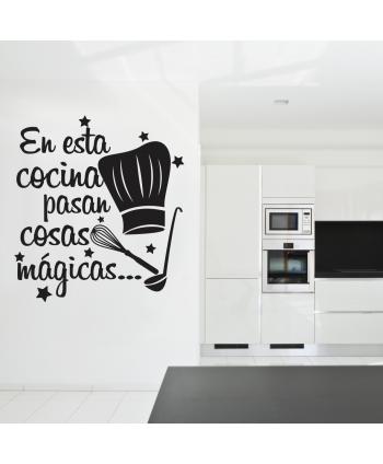 En esta cocina pasan cosas mágicas