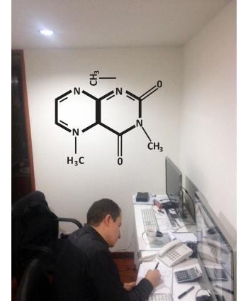 Molecula del cafe