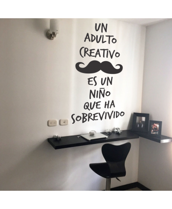 Un adulto creativo